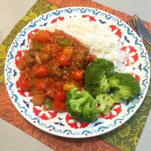Vegetarische goulash 5