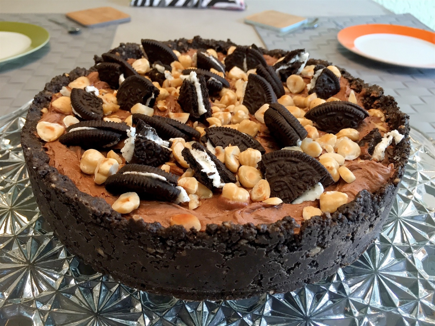 De Nutella cheesecake