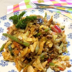 Aardappelschotel met groenten