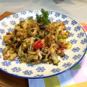 voorbeeld Aardappelschotel met groenten