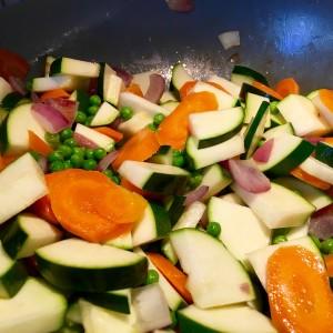 Voorbereiding Indiase curry