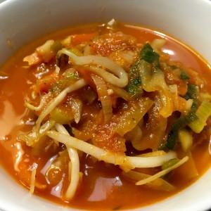 voorbeeld Chinese tomatensoep