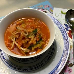 lekkere Chinese tomatensoep