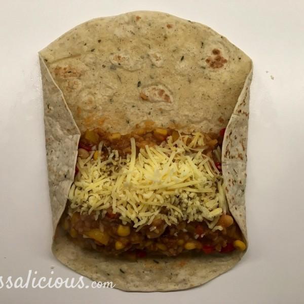 Voorbereiding burritos