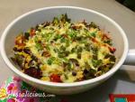 Lekkere Mexicaanse ovenschotel met spinazie en paprika