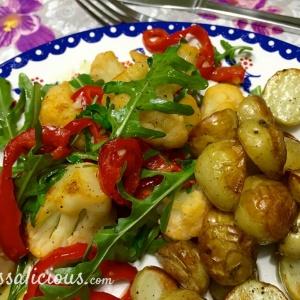 paprika-bloemkoolsalade