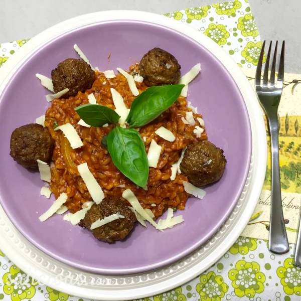 Overheerlijke Stevige risotto met tomaat