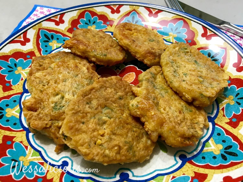 voorbeeld Kaaskoekjes (kaastortilla's)