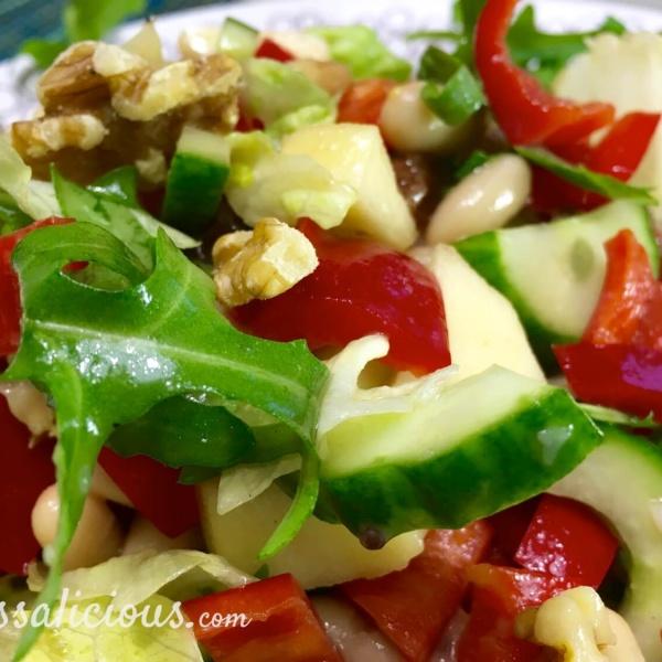 salade met paprika - 5