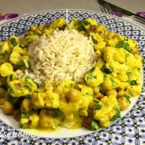 Lekkere Indiase bloemkoolcurry