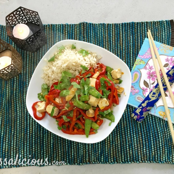 Thaise curry met zilvervliesrijst