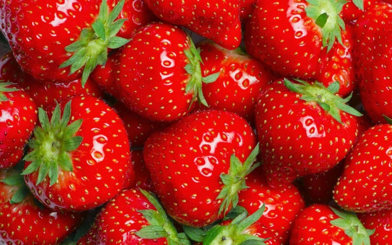 kroontje aardbeien aardbei