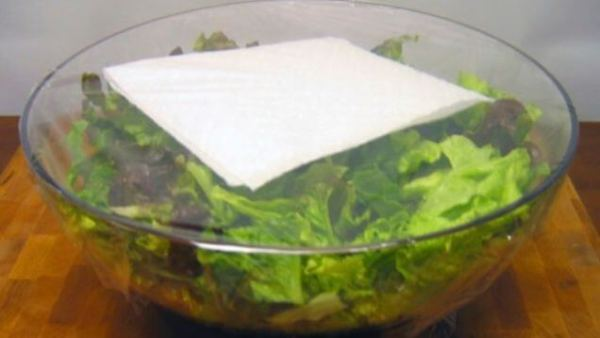 keukenrol trucje voor sla