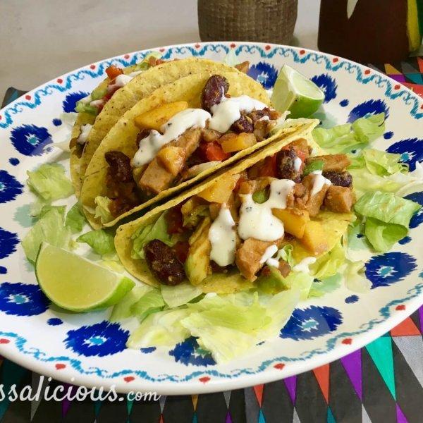 Frisse taco's met limoenmayonaise
