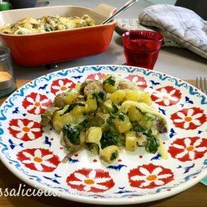 Zwitserse aardappelschotel en raclette kaas