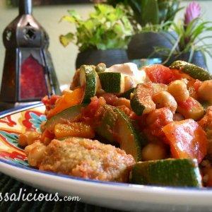 Kruidige Falafelschotel met couscous