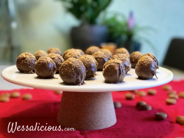 Truffels van kruidnoten