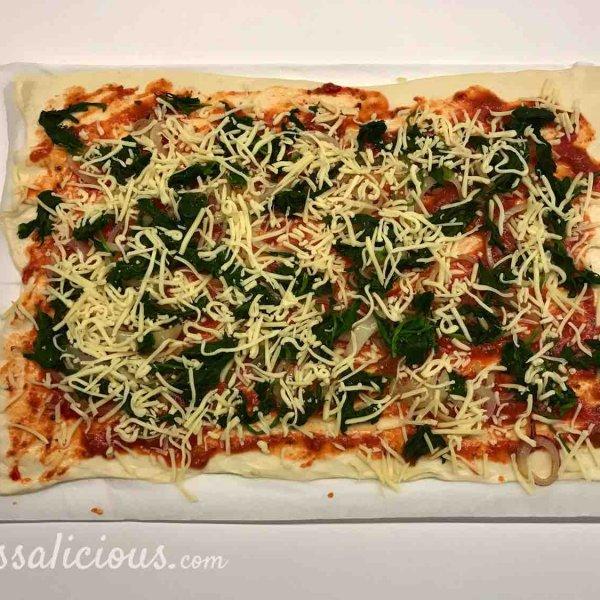 pizzadeeg voor breekbrood