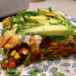 Mexicaanse lasagne van wraps