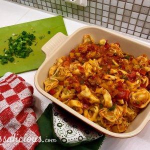 voorbereiding Tortelloni ovenschotel