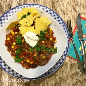 Mexicaanse linzen chili