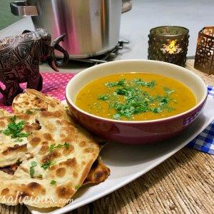 Dahlsoep (Indiase linzen soep)