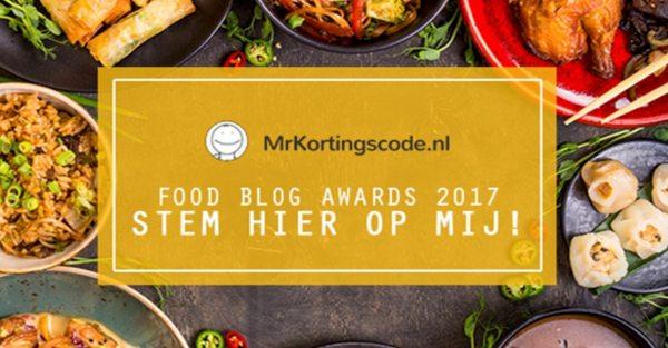 Food blog awards 2017