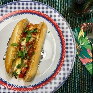 Smeuïge Italiaanse broodjes met bolognesesaus