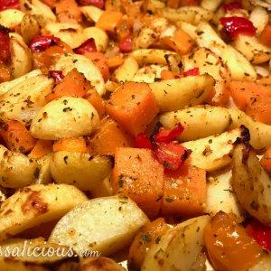 Aardappel roast met paprika