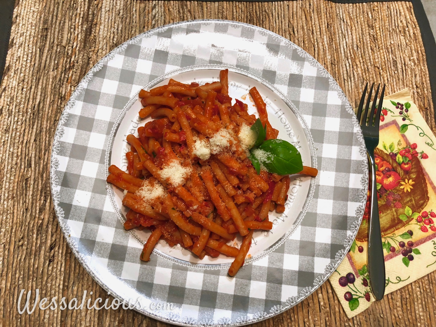 Vegetarische Pasta all'Arrabiata
