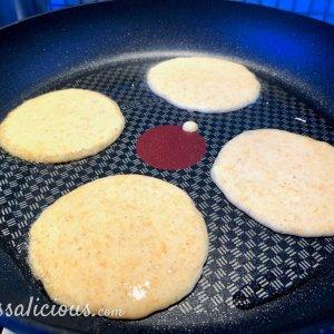 voorbereiding Pannenkoeken met pompoen