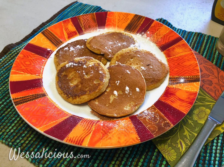 Pannenkoeken met pompoen
