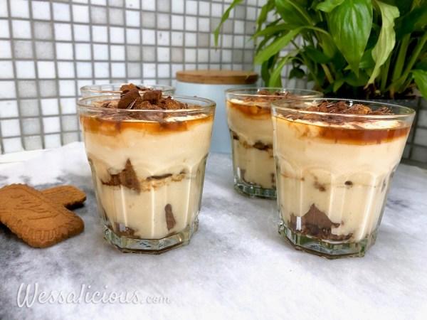 Luchtig speculaas dessert
