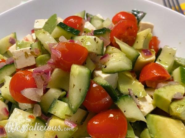 Frisse Avocado salade