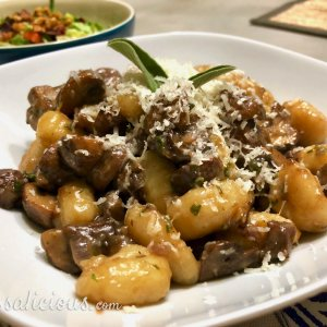 Gnocchi met kastanjechampignons