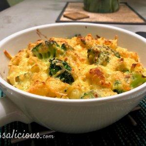 Mac en cheese met broccoli