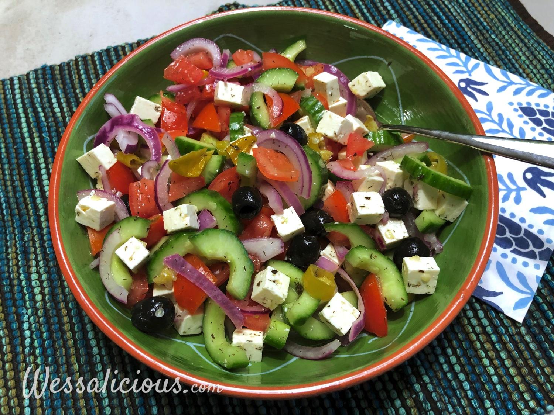 Turkse salade (Coban salatasi)
