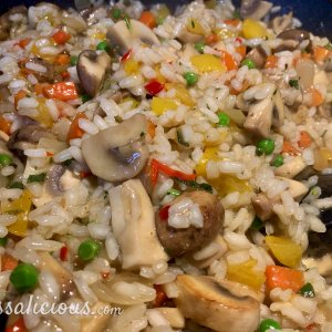 Voorbereiding Snelle zomerse Risotto