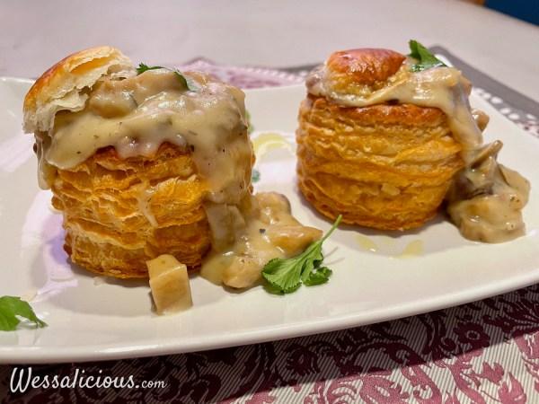 Vegetarische champignonragout
