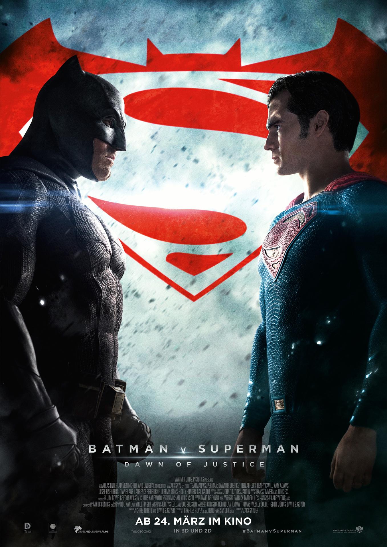 Batman v Superman: Dawn of Justice | Wessels-Filmkritik.com