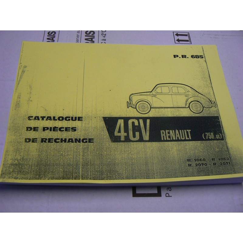 Catalogue Pieces Detachees 4 Cv 4cv