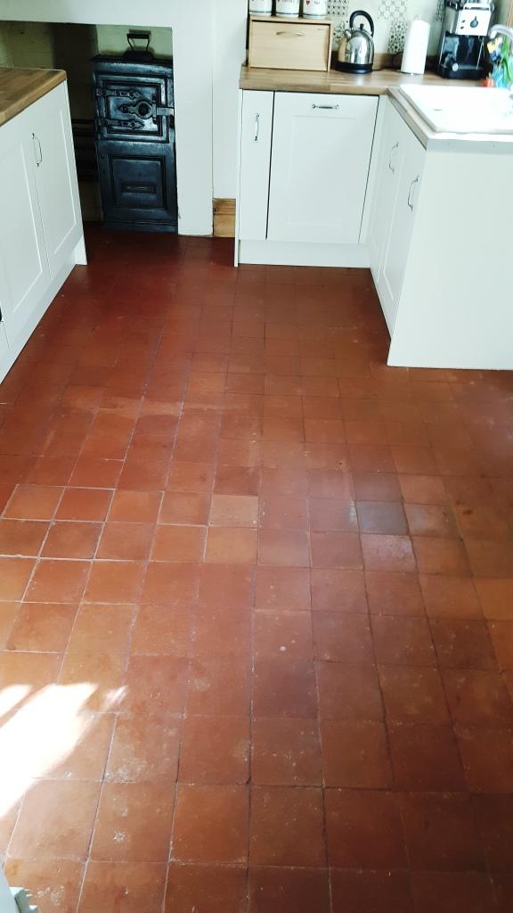 refinishing kitchen floor tiles in
