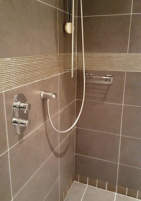Shower cubicle after cleaning in sale Cheshire
