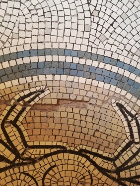 Repairing Mosaic Flooring Warrington Treasury Building