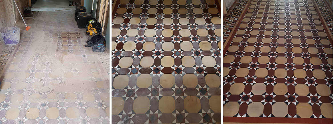 Damaged Listed Victorian Floor Rebuilt and Restored in Great Budworth