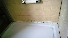 Bathroom Shower Cubicle Before Renovation Millom