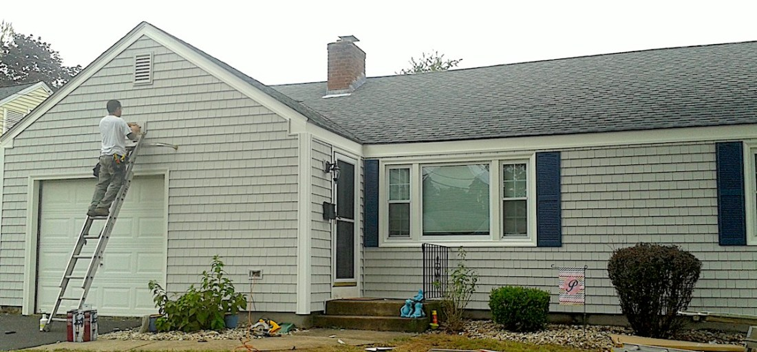 New siding from West Hartford Windows can enhance your home