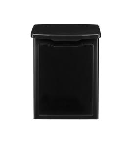 Black Lift Top Mailbox