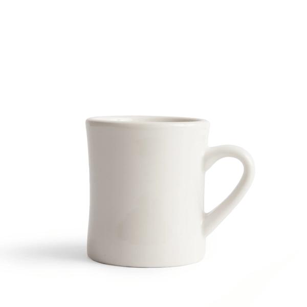 image of off white diner mug