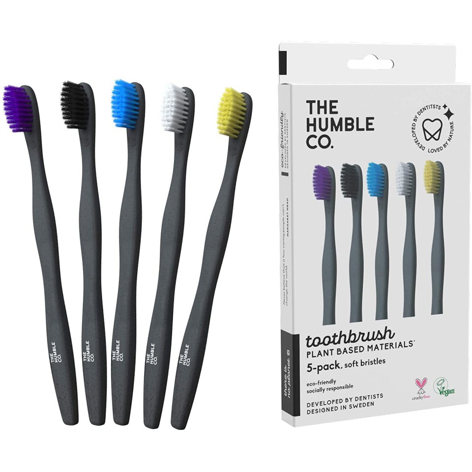 humble co plant based toothbrushes